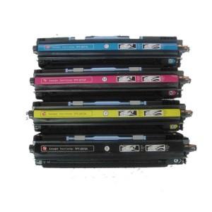 4 Pack Combo Hp Q2670A Q2671A Q2672A Q2673A Toner Cartridge Black/Cyan/Magenta/Yellow Remanufactured