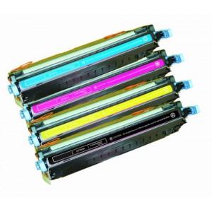 4 Pack Combo Hp Q7560A Q7561A Q7562A Q7563A Toner Cartridge Black/Cyan/Magenta/Yellow Remanufactured