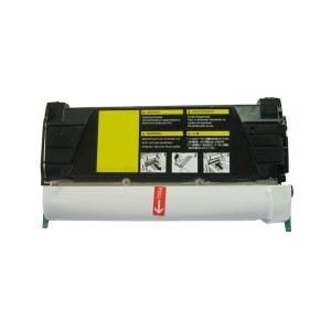 Lexmark CC522 Toner Cartridge Yellow Remanufactured