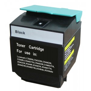 Lexmark C540X2KG Toner Cartridge Black Remanufactured (C540)